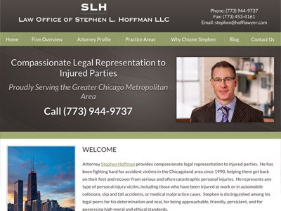 Law Firm Website design for Law Offices of Stephen L.…