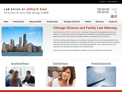 Law Firm Website design for Law Office of Jeffrey R.…