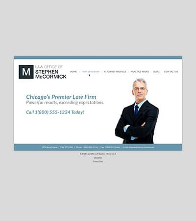 Law firm wbsite design concept Layout #102