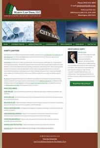 Minnesota Lawyer Website Design