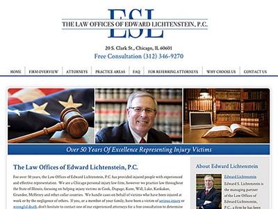 Chicago Personal Injury Attorney Website