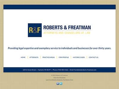 Ypsilanti Michigan Law Firm Website Design