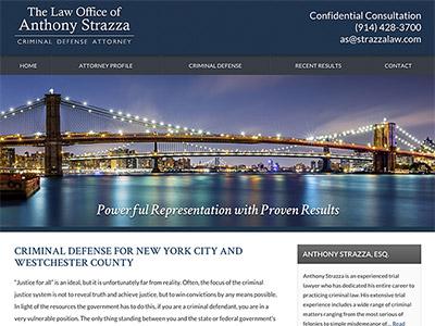 New York Attorney Website Design