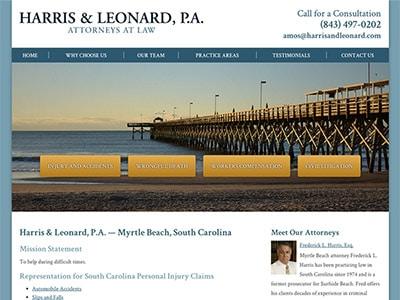 Myrtle Beach Personal Injury Attorney Website