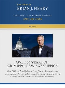 Tablet Friendly New Jersey Law Firm Website Design
