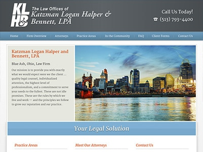 Law Firm Website design for The Law Offices of Katzma…