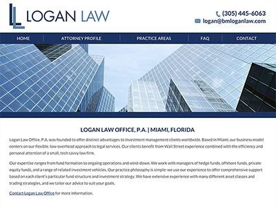 Miami Florida Attorney Website Design