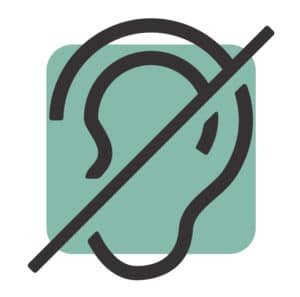 Icon: Hearing Impaired