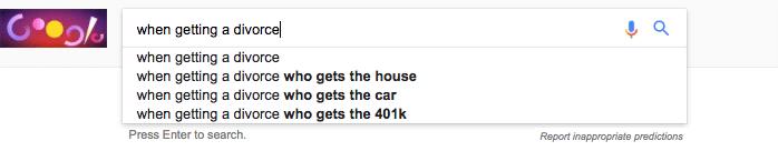 Google Auto Suggest screenshot