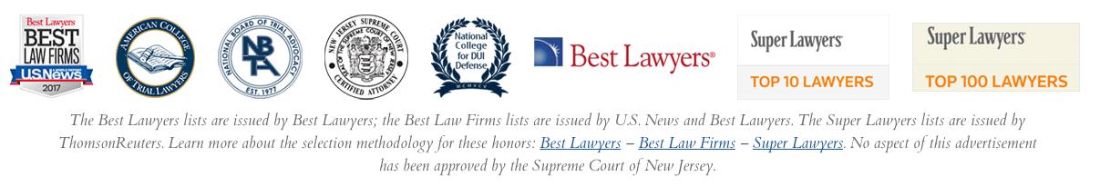 Super Lawyers Badge Disclaimer