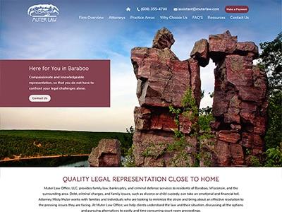 Website Design for Muter Law Office LLC