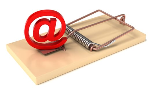 Free e-mail in a Mousetrap