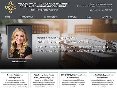 Law Firm Website design for Nardone HR & Management C…