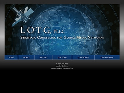 Law Firm Website design for LOTG, PLLC
