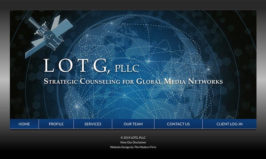 Law Firm Website Design for LOTG, PLLC