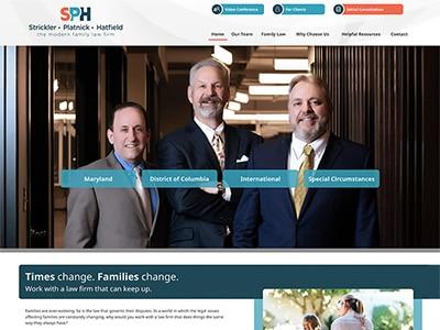 Website Design for Strickler, Platnick & Hat…