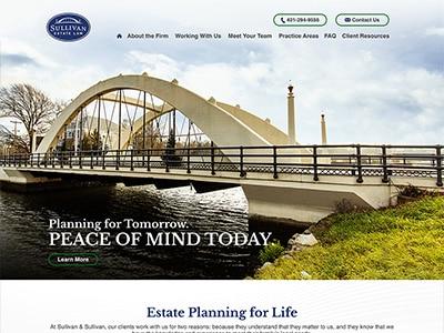 Law Firm Website design for Sullivan & Sullivan, P.C.