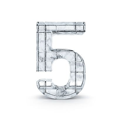 5 Made from Ice